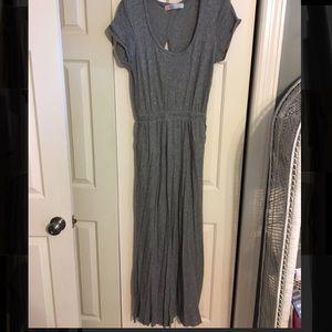 Free People open back maxi dress, size M